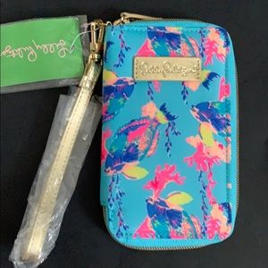 NEW - never used - LILLY PULITZER- palm phone case